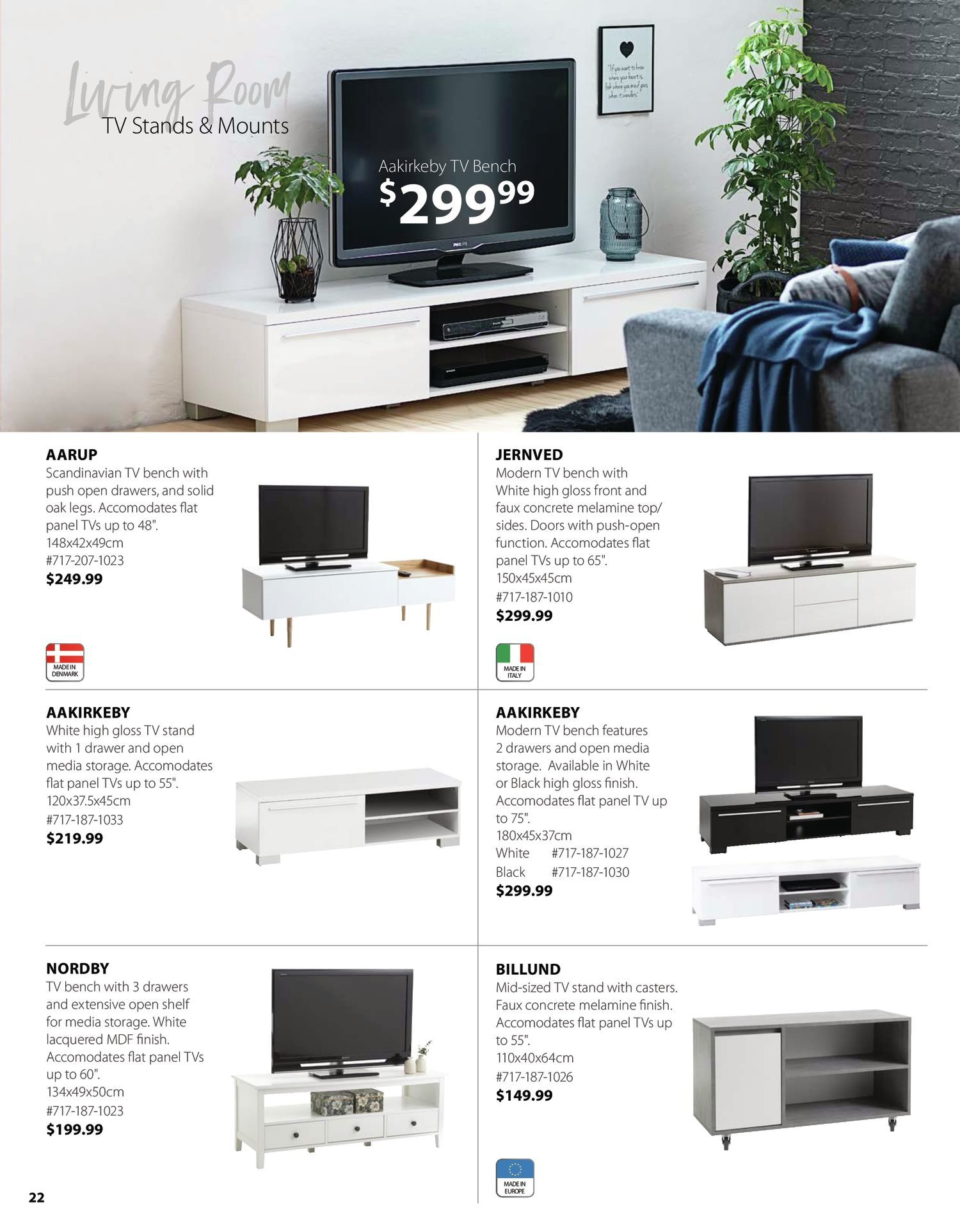 Circulaire Jysk - Furniture Catalogue - Be Inspired