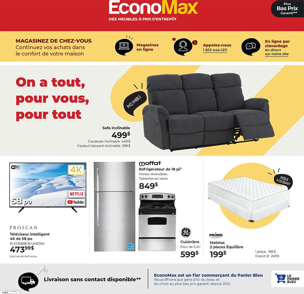 Circulaire EconoMax du 12 Janvier au 3 Février 2021