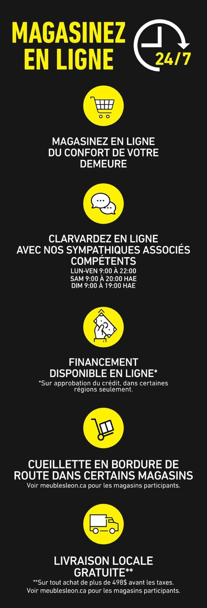 Circulaire Meubles Léon du 14 au 27 janvier 2021